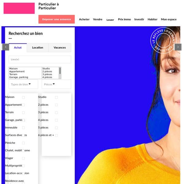 IMMOBILIER - Annonces immobilières