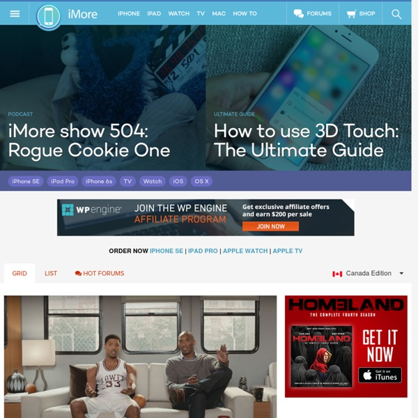 The #1 site for iPhone, iPad, Mac, and all things Apple!