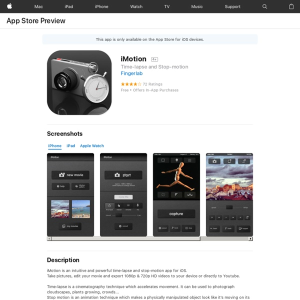 iMotion on the App Store
