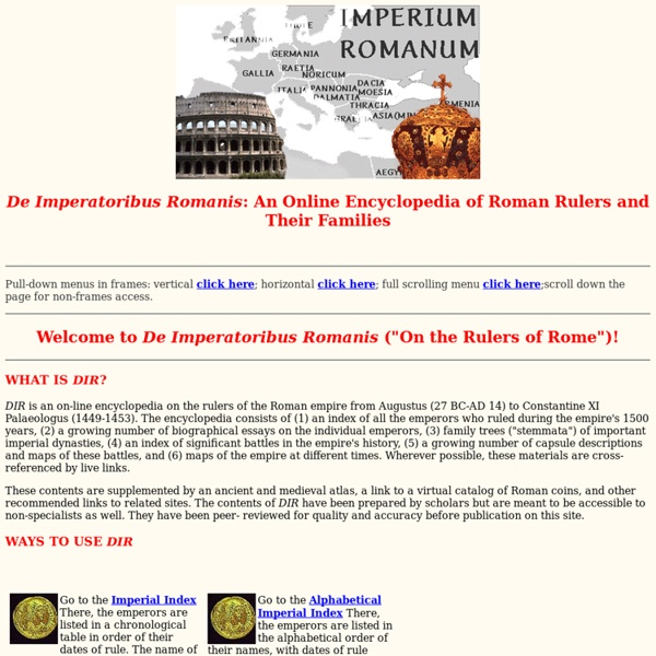 roman rulers and their families essay Go to the imperial index there, the emperors are listed in a chronological table in order of their dates of rule the name of each emperor for whom a biographical essay is complete offers a live link to the essay go to the alphabetical imperial index there, the emperors are listed in the alphabetical order of their names, with dates of rule appended.