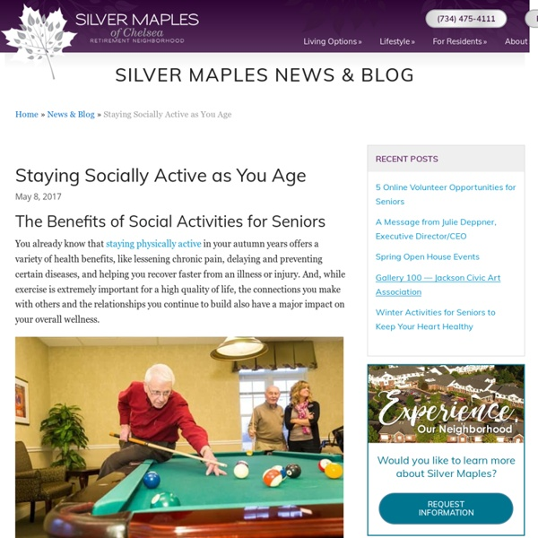 What are some social activities ideas?
