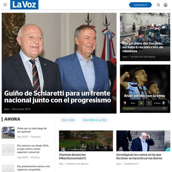 Mestre | Noticias al instante desde LAVOZ.com.ar | La Voz del Interior