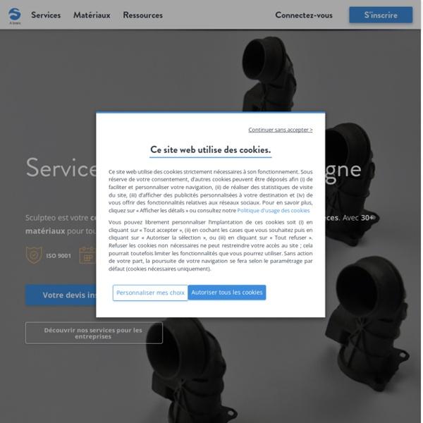 Impression 3D en ligne de votre design