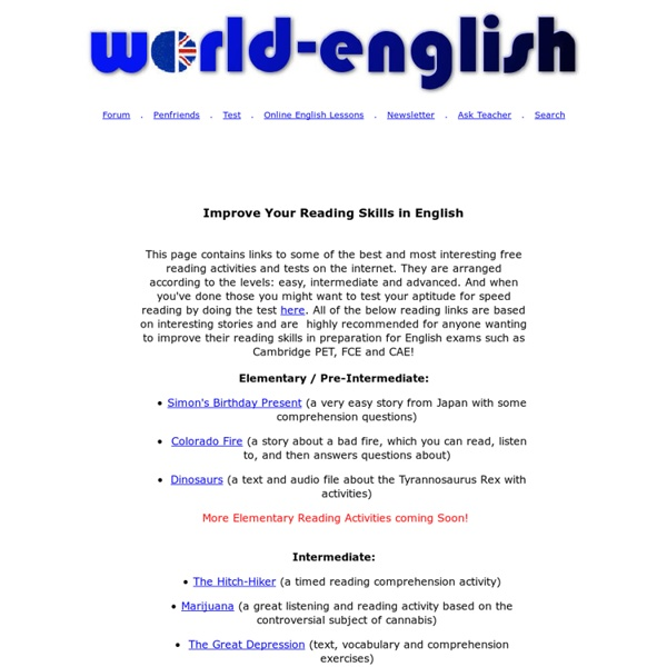 Improve English Reading Skills | Pearltrees