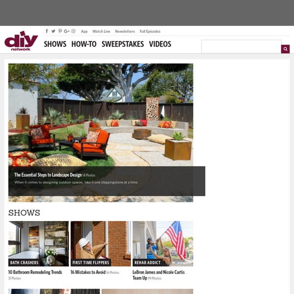 DIY Network - Home Improvement How-To &Remodeling Projects