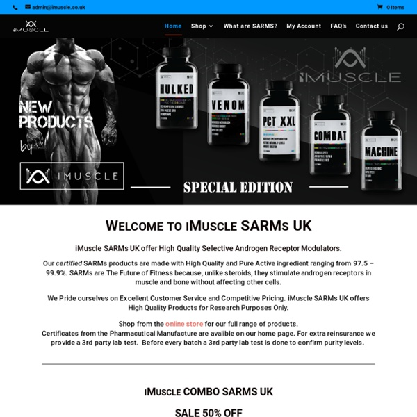 Sport Supplements and SARMS for SALE UK