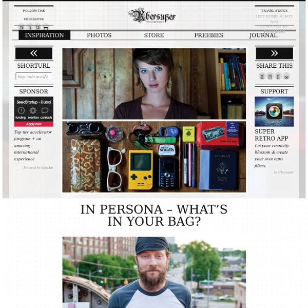 In Persona – What's in your bag?