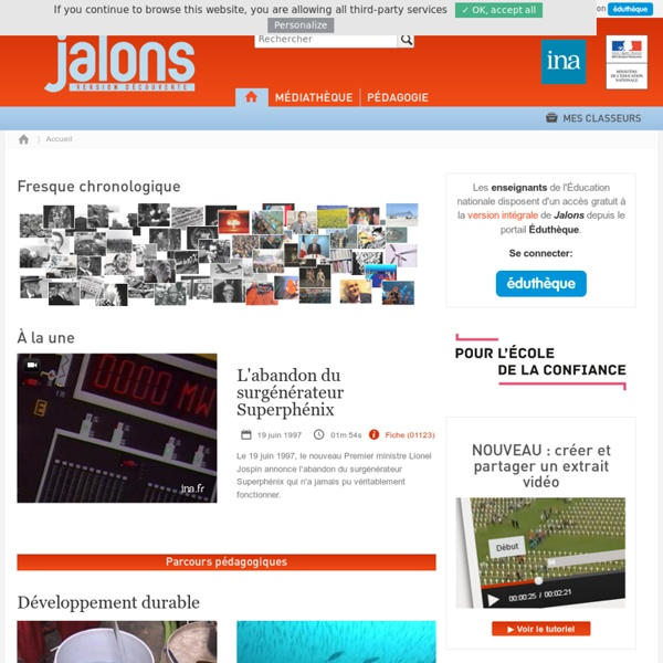 INA - Jalons