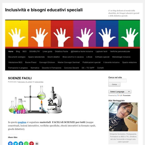 E' un blog dedicato al mondo della disabilità e dei bisogni educativi speciali.