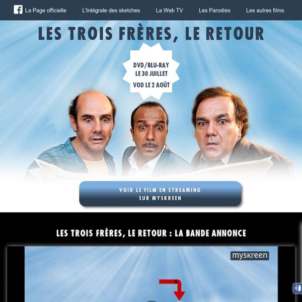 Les Inconnus - ZE WEB STORY - avec Didier Bourdon, Pascal Légitimus et Bernard Campan - Retrouvez leurs vidéos
