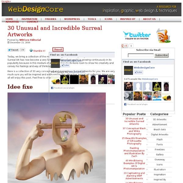 30 Unusual and Incredible Surreal Artworks