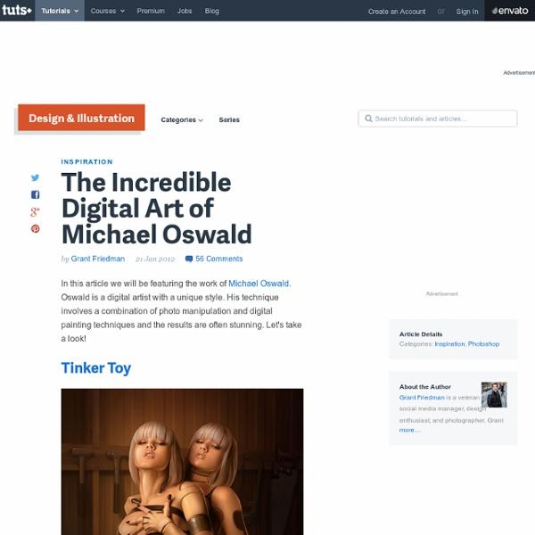 The Incredible Digital Art of Michael Oswald