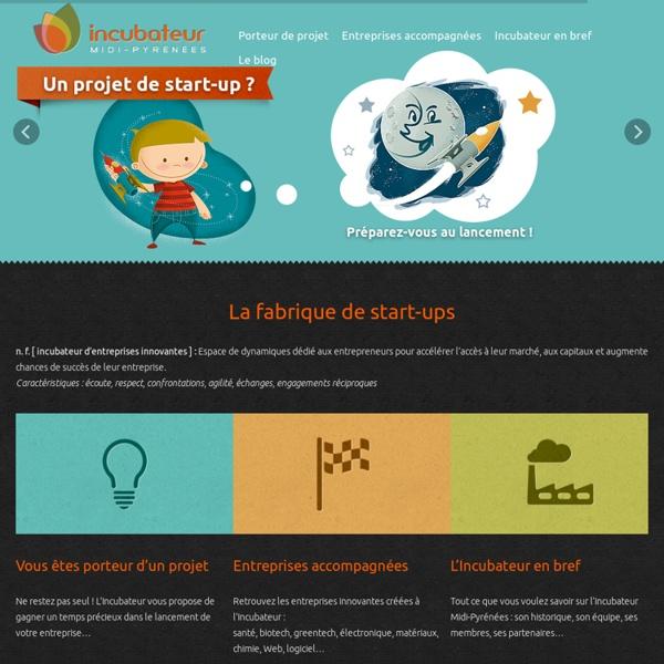 Incubateur d'entreprises innovantes : créez, accélérez, développez