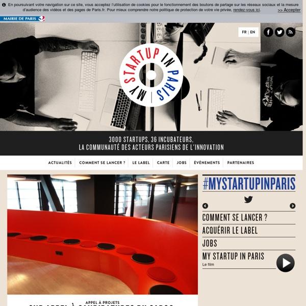 3000 startups, 36 incubateurs, la communauté des acteurs parisiens de l'innovation