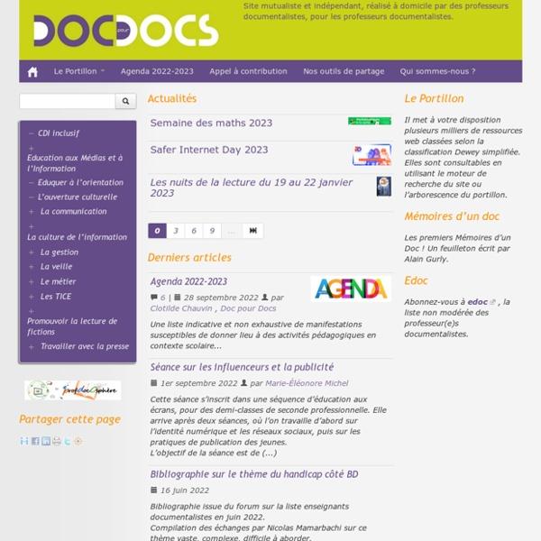 Doc pour docs