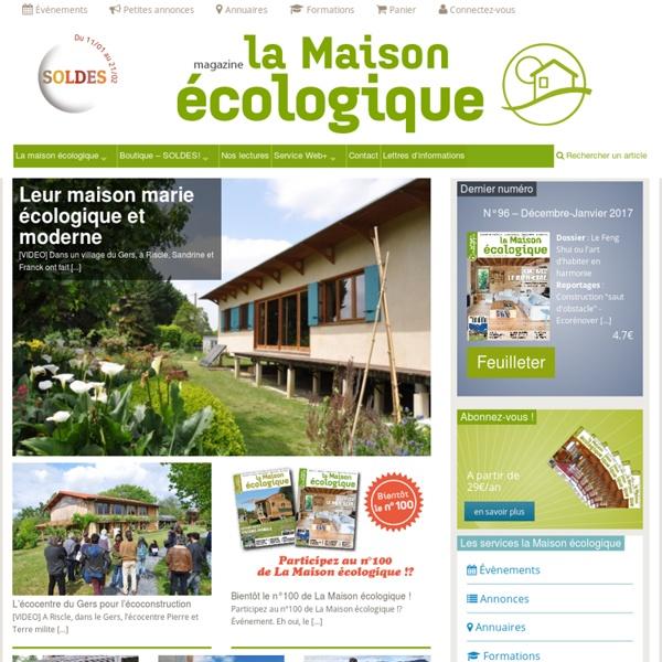 La Maison écologique magazine
