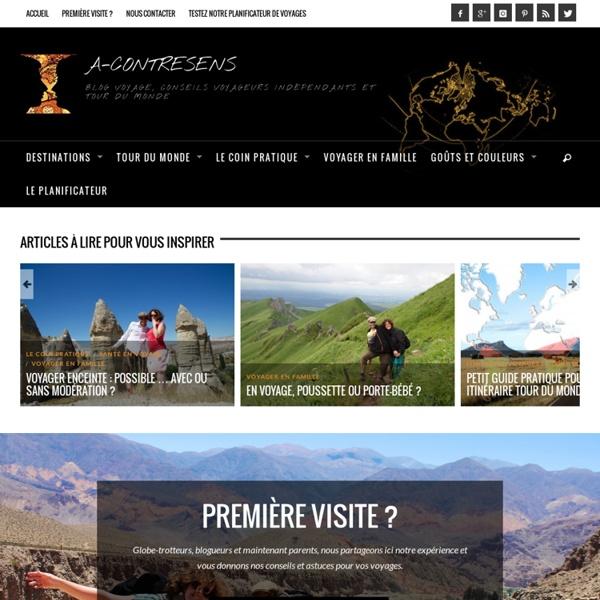 Tour du monde - Blog voyage, conseils de voyageurs en indépendants