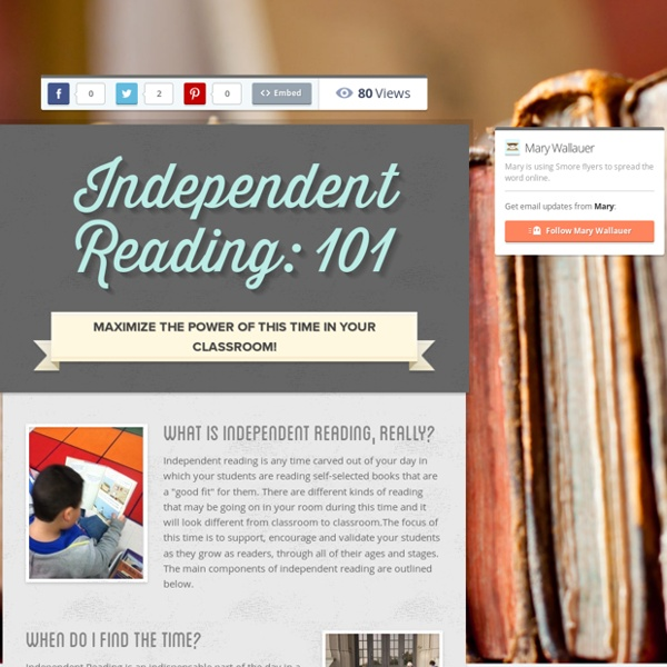 Independent Reading: 101