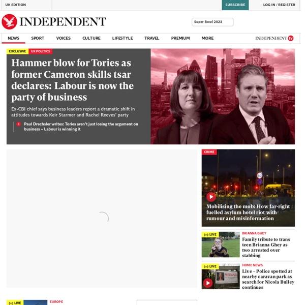 UK and Worldwide News