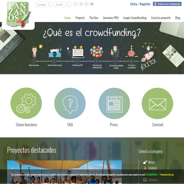 Crowdfunding - Index - Lanzanos