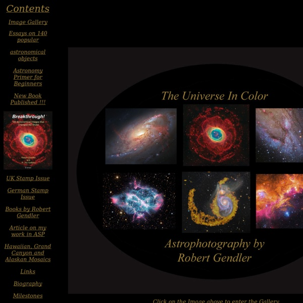 The Universe in Colour