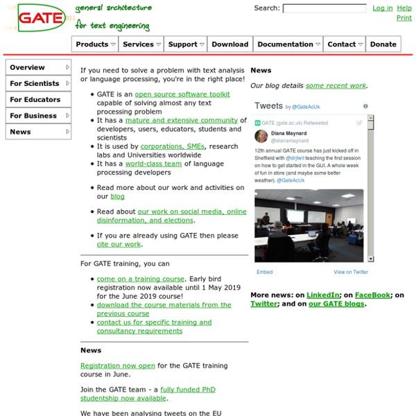 GATE.ac.uk - index.html