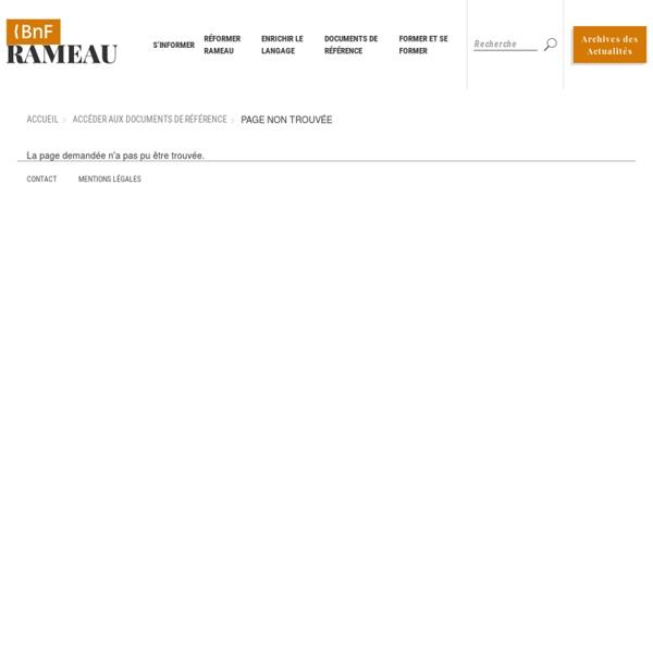Guide d'indexation RAMEAU
