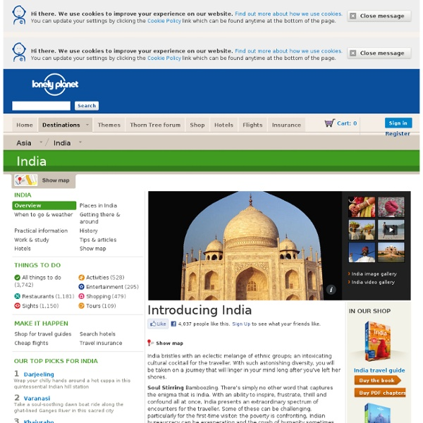 India - Travel Guide, Info & Bookings – Lonely Planet