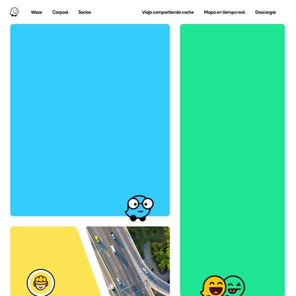 Indicaciones, avisos de tráfico y viajes compartidos de Carpool: todo en Waze