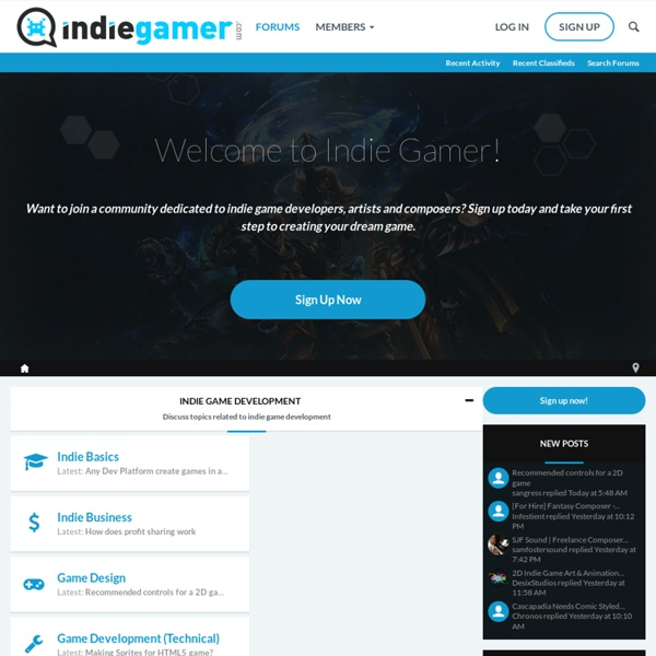 Indiegamer Developer Discussion Boards - Powered by vBulletin