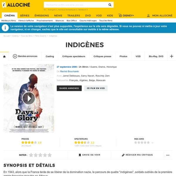 Indigènes - film 2006