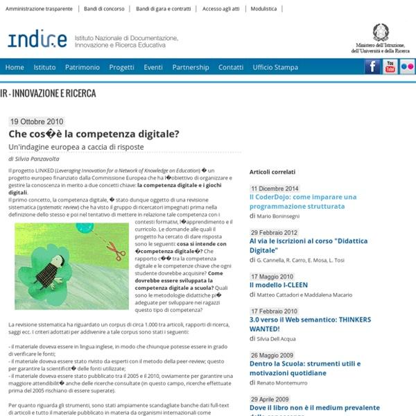 Indire, sito ufficiale