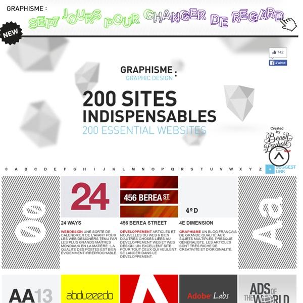 Graphisme : 200 sites indispensables