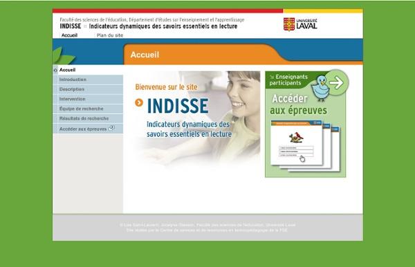 INDISSE - Accueil