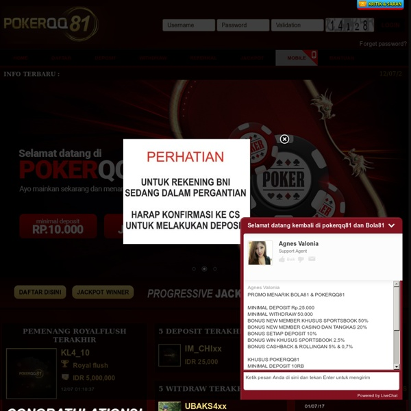 Situs Poker Online Indonesia Terpercaya Agen Judi Uang Asli Domino Qiu Qiu - pokerqq81.com