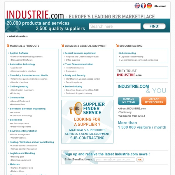 Industrie.com – Actualités et services pour les professionnels de l'industrie.