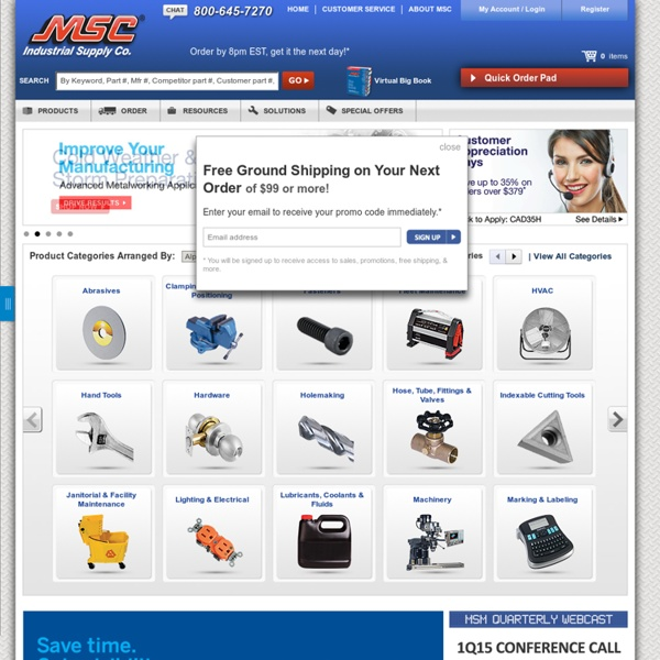 Find Power Tools, Hand Tools, Machine Tools & More