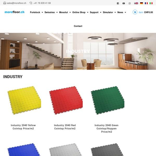 Industrial Floor for Garages, Workshops and Factories
