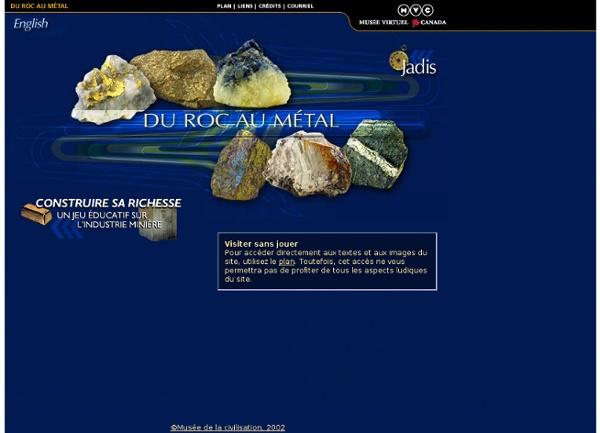 Du roc au métal : l'industrie minère au Québec