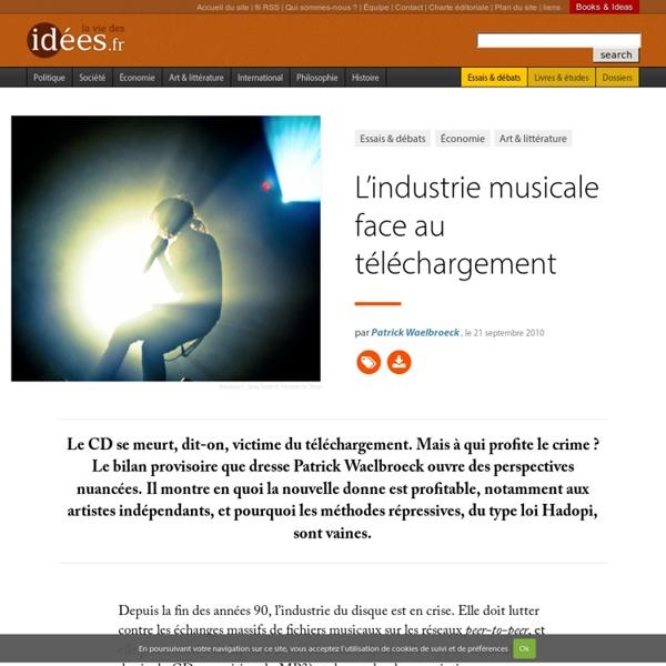 L'industrie musicale face au téléchargement