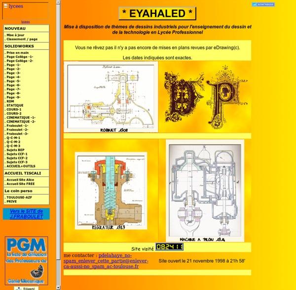 TOULOUSE-Accueil base de dessins industriels pour l'enseignement en LP
