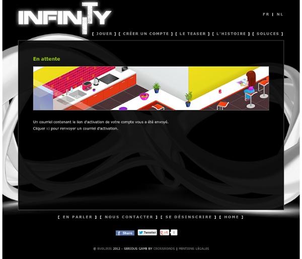 InfinITy - Le Serious Game de sensibilisation aux métiers TIC