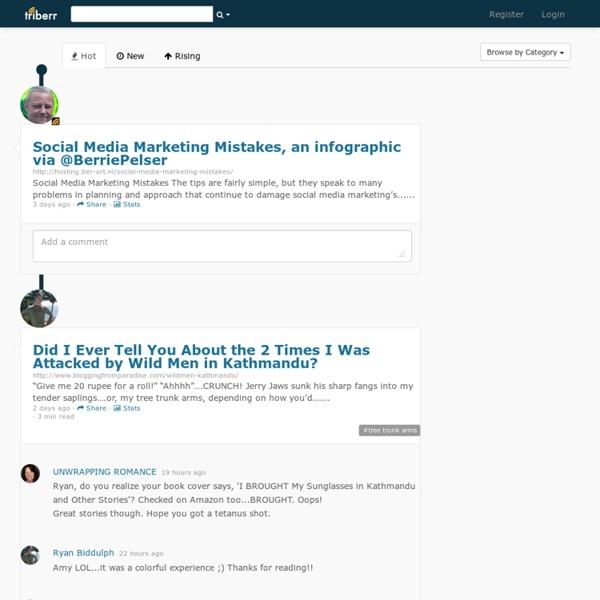 Home of Influencers An Influencer Marketing Platform - Triberr