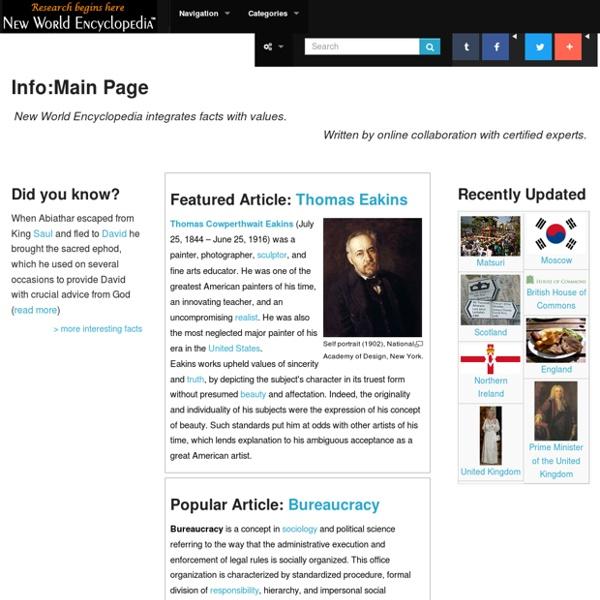 New World Encyclopedia