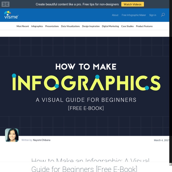 How to Make an Infographic: Free Visual E-Book for Beginners