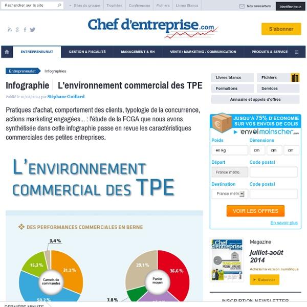 L'environnement commercial des TPE