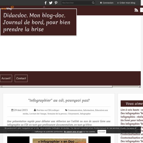"""""""Infographier"""" au cdi, pourquoi pas?"""