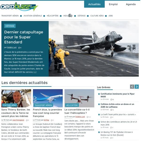 AéroBuzz : Actualité et Information Aéronautique