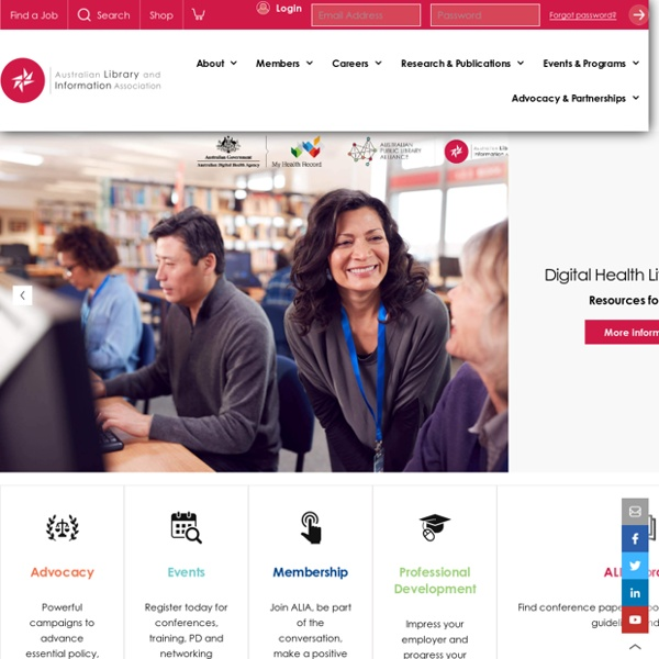 Australian Library and Information Association