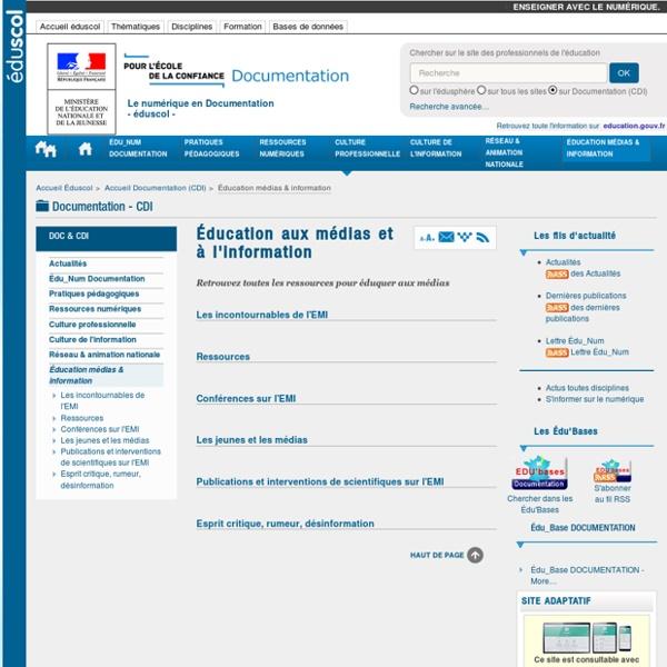 Éducation médias & information